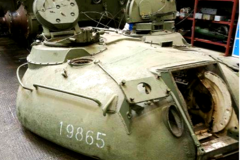 Refurbishment of T-55 tanks